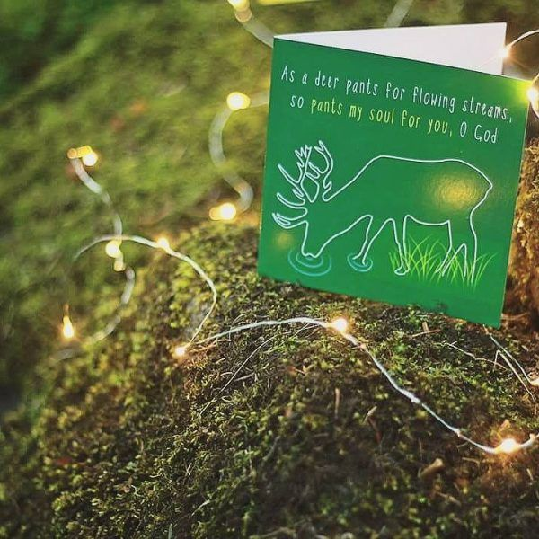 YOU ARE FULFILLED Inspired by: Psalm 42:1-2   Designed to encourage someone who is struggling with… - Discouragement - Worship - Praise - Passion - Zealousness . Available to buy at: www.mannacards.co.uk Manna Cards: Christian Cards of Encouragement for Periods of Wilderness.