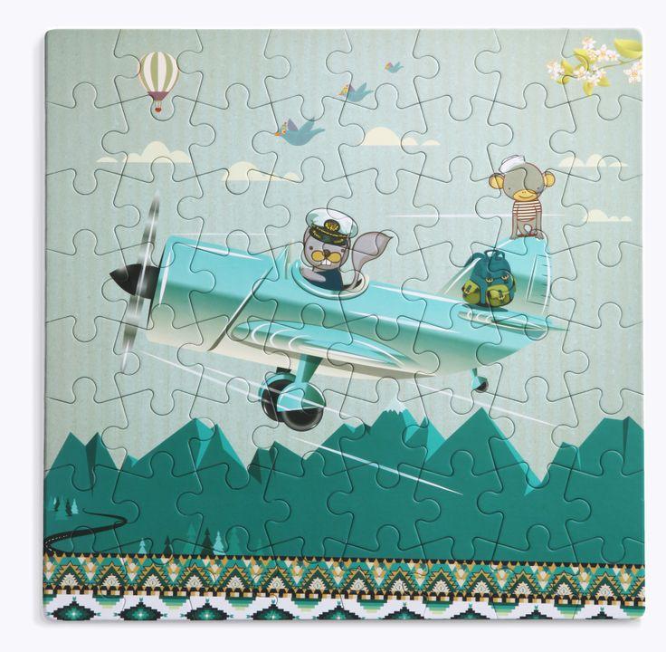#par_avion #puzzleforever