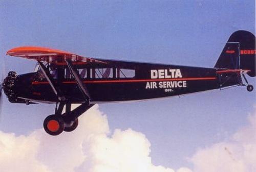 Delta Air Lines - 1928 by Origins of Business, via Flickr