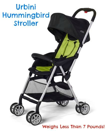 """Have you seen the Urbini Hummingbird Stroller? It is Stylish and Weighs Less Than 7 Pounds! """"I can lift it up and open it with one hand."""" #Baby #Toddler #Stroller #MC #Sponsored"""