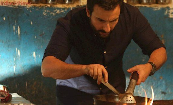 Chef: Saif Ali Khan is cooking with caution in the first still, film to release on October 6. See photo