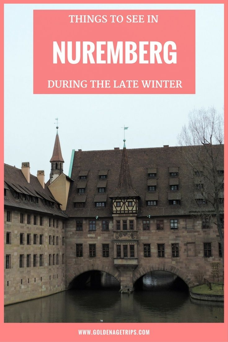 The Christmas Markets are gone, but the temperatures are still low. On this post, we share with you things to see in Nuremberg during the late winter. via @goldenagetrips