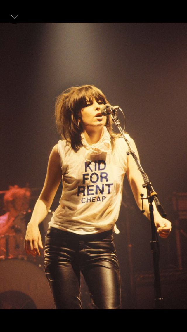 Chrissie Hynde - Our son bought his parents tickets to see this gal AND Stevie Nicks in Denver October 27th. #keepmusicgoing #KMGLIFE