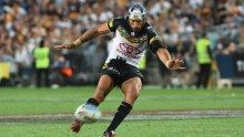 Jonathon Thurston Nth Queensland Cowboys kicks field goal in OT to beat Brisbane Broncos in one of the most thrilling Grand Finals ever - ABC News (Australian Broadcasting Corporation)