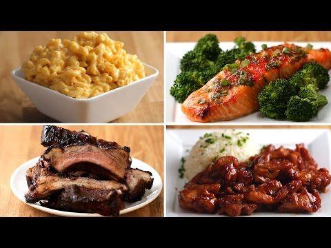 4 Easy 3-Ingredient Dinners - YouTube