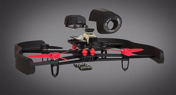 Bebop Parrot Drone ... These drones that follow you are awesome, check them out in our site
