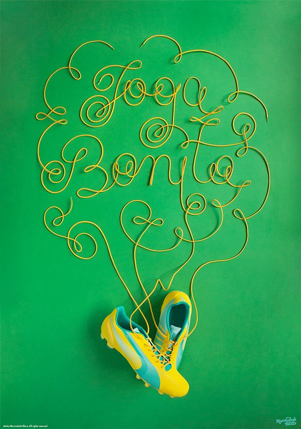 More Creative Typography by Danielle Evans | Inspiration Grid | Design Inspiration