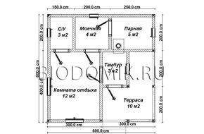 Проект 6х6 » Строительство бани из бруса под ключ » Строительство в Ленобласти и Подмосковье