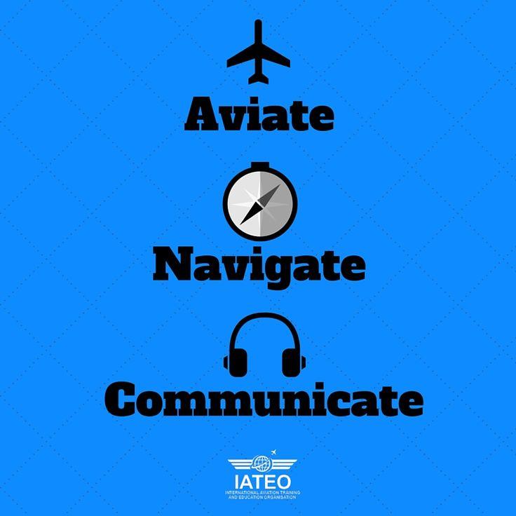 #Aviate #Navigate #Communicate #Aviation #Flying