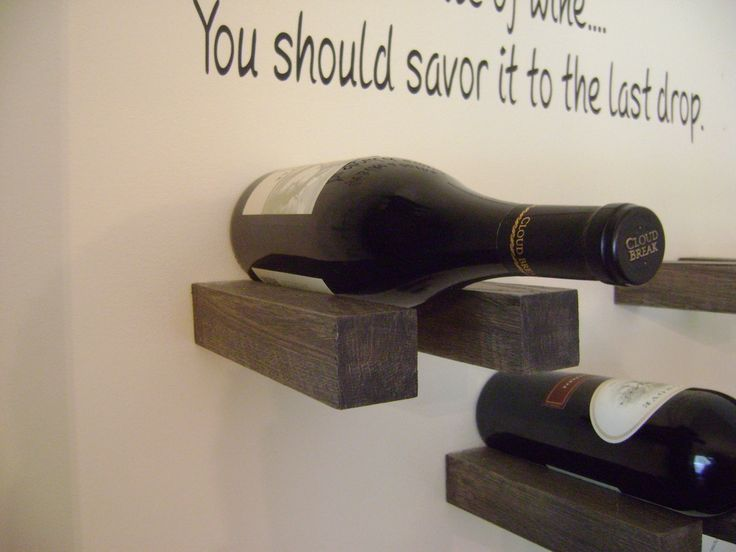 Here Is A DIY Wine Rack That I Built. It Was A Fun Project And Part 58
