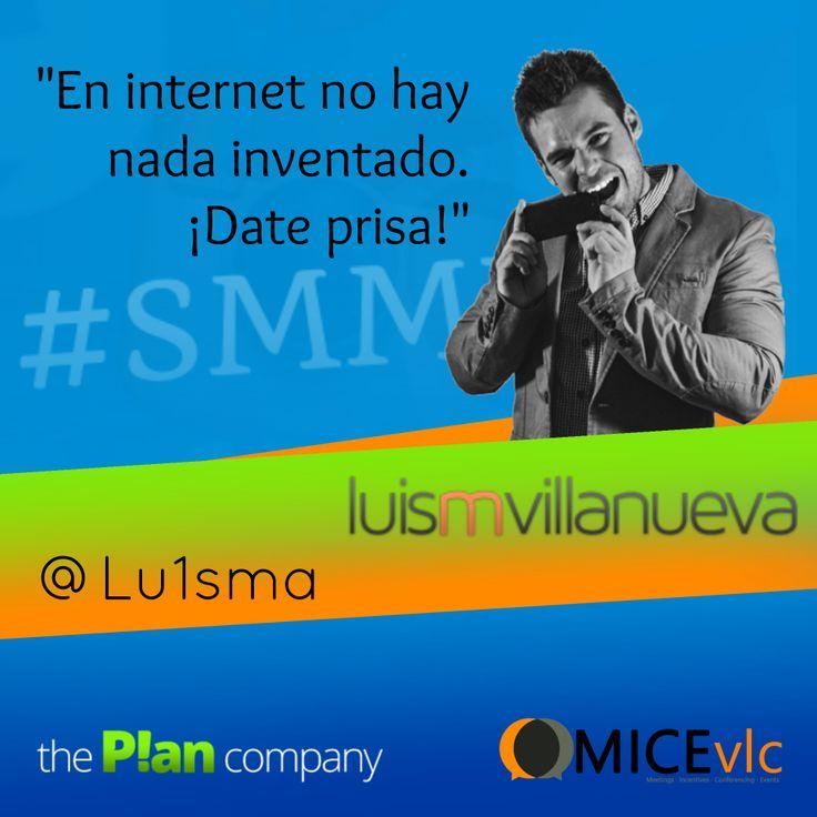 Luis M. Villanueva será otro de nuestro ponentes en el #SMMDay de #Valencia, en el que nos hablará de lo que él ha llamado el SEOcial Media, o la profunda relación entre el #SEO y el #SocialMedia.