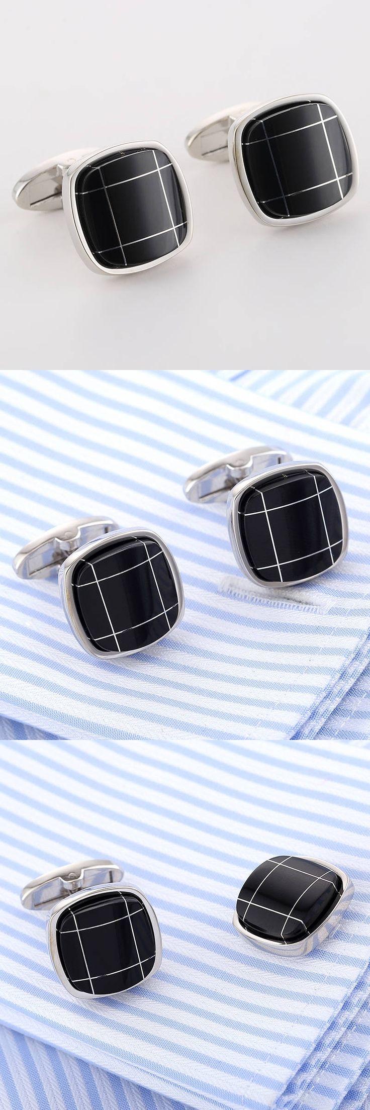 VAGULA Cuff links Top Quality Lawyer Groom Wedding Cufflinks French Shirt Cuffs Gemelos 322