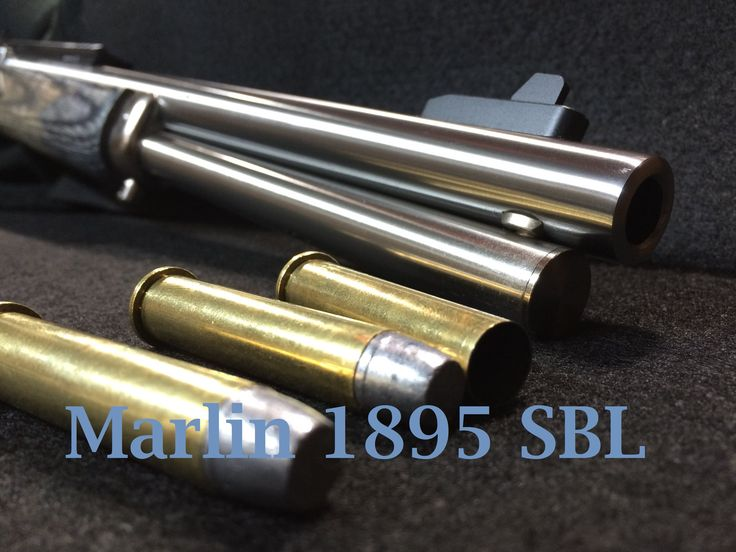 Marlin 1895 SBL First Shots