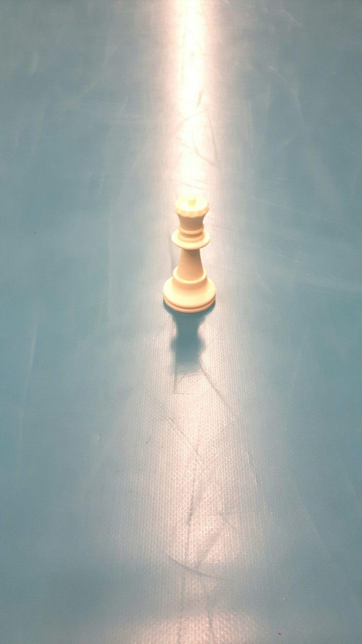 Voorwerp op een dikke mat (schaduw)