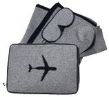 Christopher Fischer cashmere travel pack