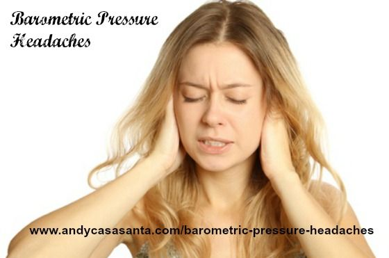 Do you get nagging morning headaches every time weather changes? You might be suffering from Barometric Pressure Headache like me. Read more..... http://www.andycasasanta.com/barometric-pressure-headaches/#more-225