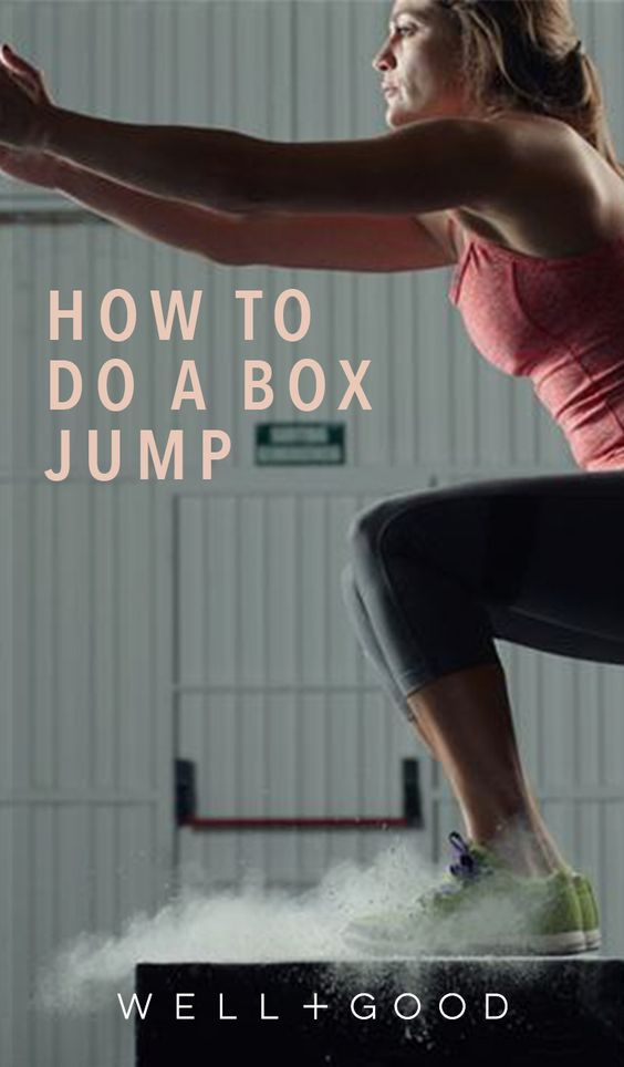 How to do a box jump properly