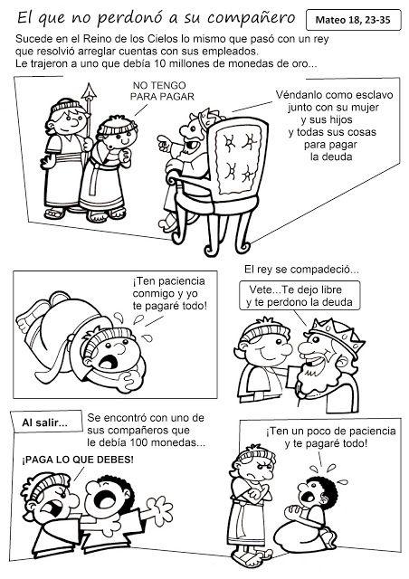 El Rincón de las Melli: HISTORIETA: El que no perdonó a su compañero (text...