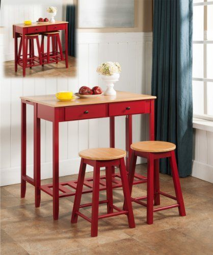 Kitchen Table And Chairs Amazon: 1000+ Ideas About Red Kitchen Tables On Pinterest