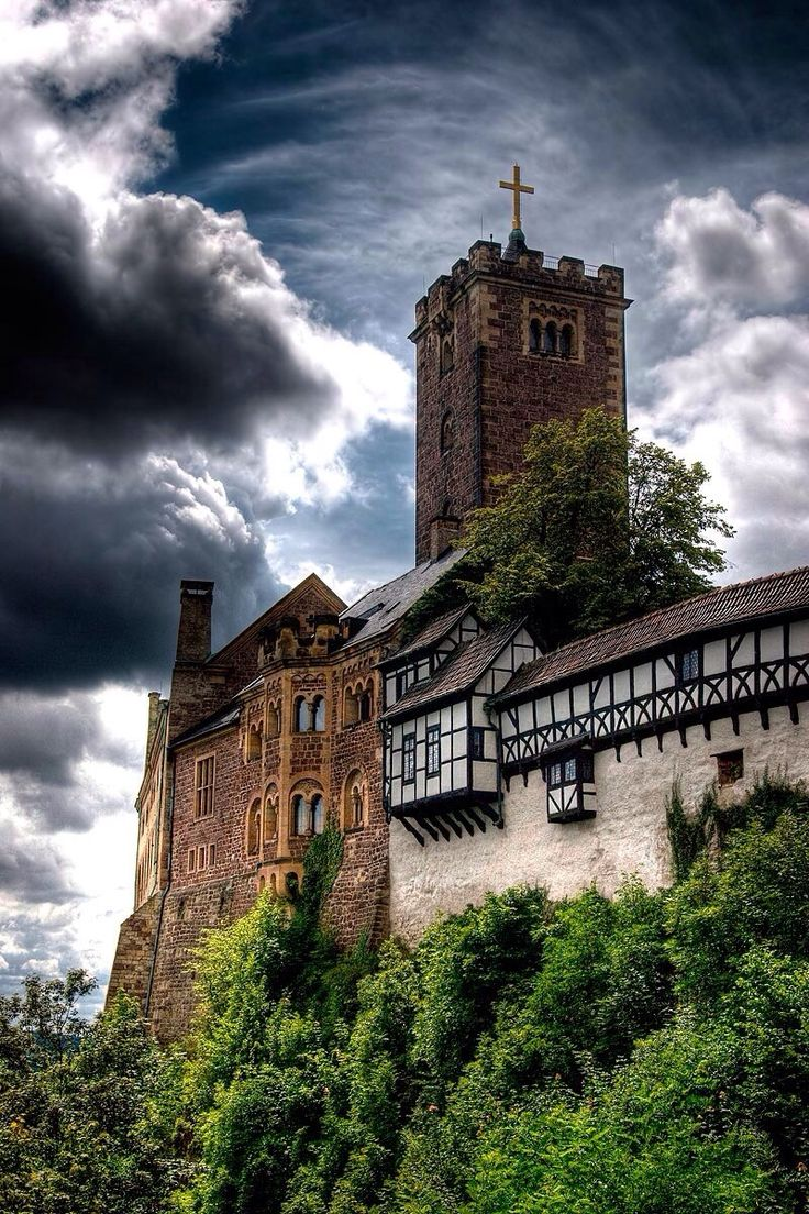 Wartburg Castle - where Martin Luther translated the Bible Eisenach, Germany