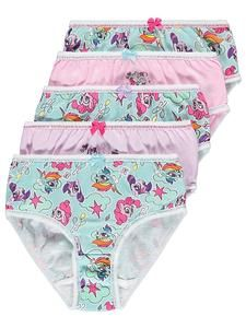 Girls Character Underwear Online: My Little Pony Briefs 5 Pack – Novelty-Characters