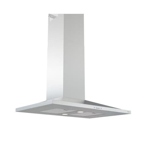 Zephyr ZAN-M90CS 600 CFM 36 Inch Wide Wall Mount Range Hood with Icon Touch? Controls, LED Lighting and Airflow Control, Silver stainless steel