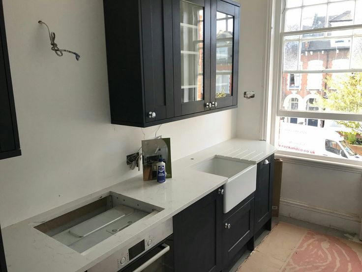 Kitchen of the week… Located in Hillfield Avenue, London (N8), showcasing the White Attica Carrera