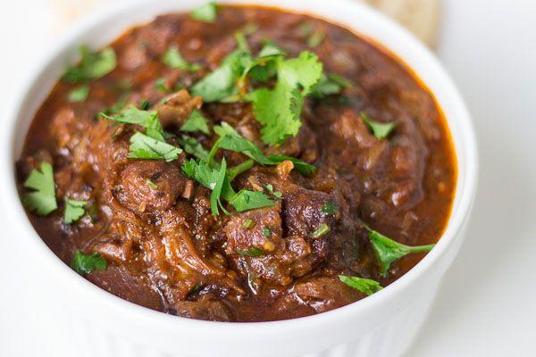 Indian Food Lamb Vindaloo