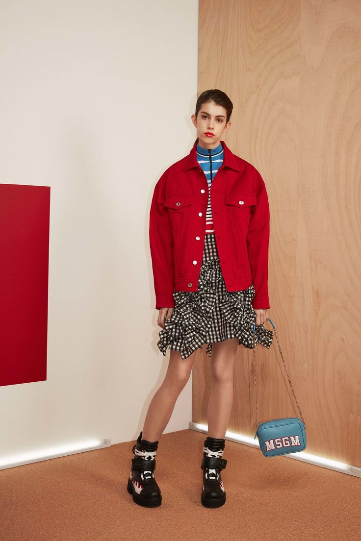 MSGM Resort 2017 fashion show - Pre-Spring-Summer 2017 collection, shown 8th June 2016