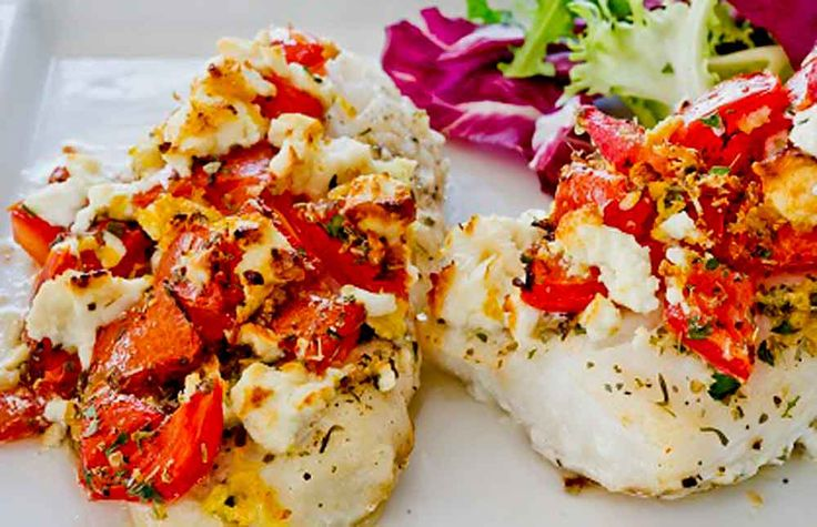 Try this delicious baked Pollock recipe. The flavour of the fish is complimented by the addition of ripe tomatoes and some Feta cheese. About Pollock Pollock is considered to be asustainable fish species and is often cited as an alternative to Cod or Haddock in many recipes. In fact the Pollock is asmaller relative of the Cod