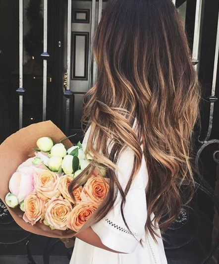 hair color + blooms