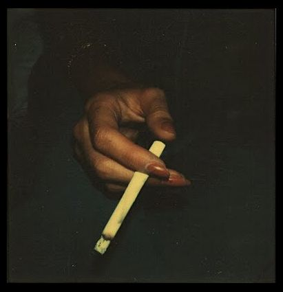 Walker Evans polaroid