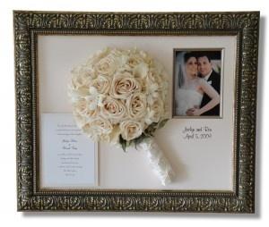 Preserving Wedding Bouquet in a Unique Way