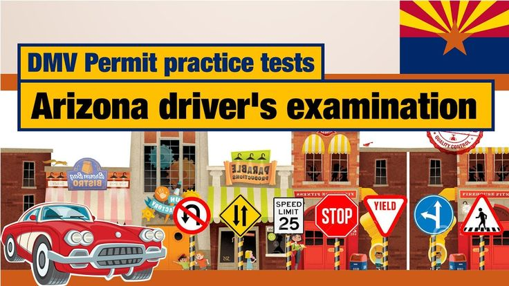 DMV Permit practice tests: Arizona driver's examination