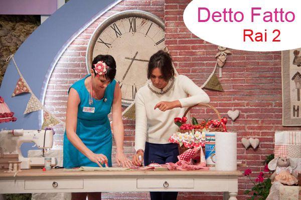 """Tutorial """"Detto Fatto"""" - Angeli di Pezza"""