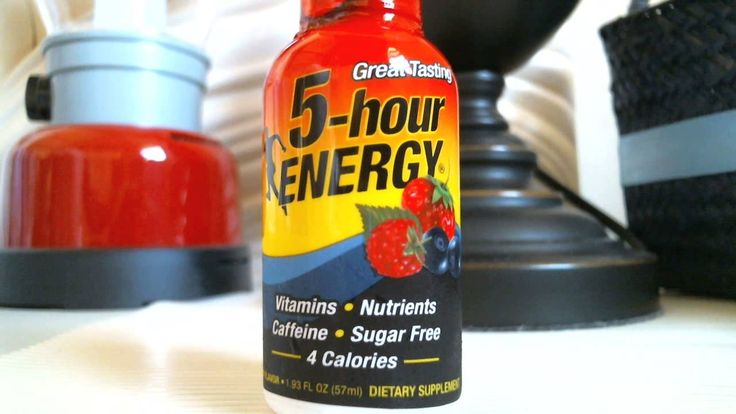 5-Hour Energy Drink (What's inside 5-Hour Energy Drink?)