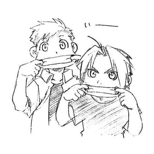 Edward and Alphonse | Tumblr