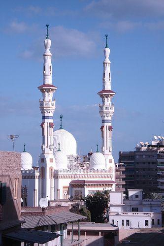 Al Nasr Mosque in Egypt Nile Delta City of Mansoura