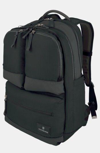Victorinox Men's Dual Compartment Backpack - Black