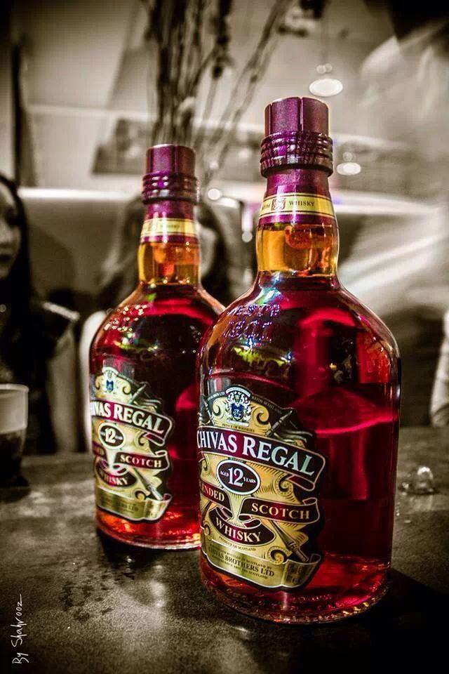 Chivas Regal Scotch Whisky, con este whisky tan fino, yo celebraba, ciando era muchacho, todos los regalos de Pablito Escobar.