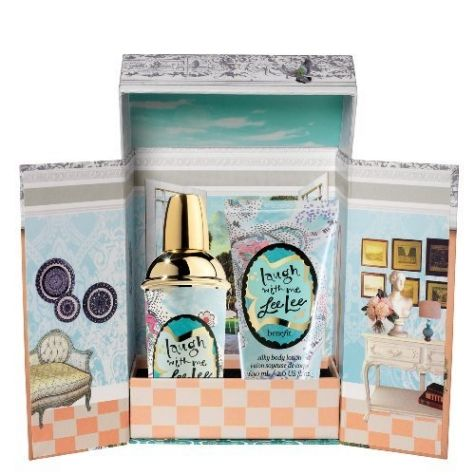 Got love it, Laugh with Me Lee Lee, not only a cute package, but also my nickname and signature scent.