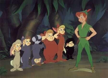 Peter pan et les enfants perdus