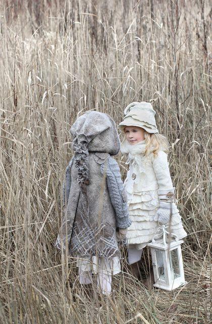 Верхняя одежда ручной работы. Ярмарка Мастеров - ручная работа Нежка из зимней сказки... Handmade.