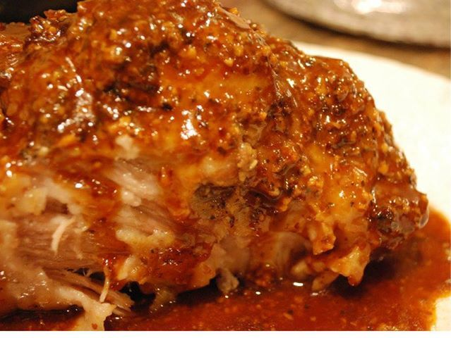 Photo: Crock Pot Parmesan Honey Pork Roast  1 boneless whole pork loin roast (4 pounds) 2/3 cup grated Parmesan cheese 1/2 cup honey 3 table...