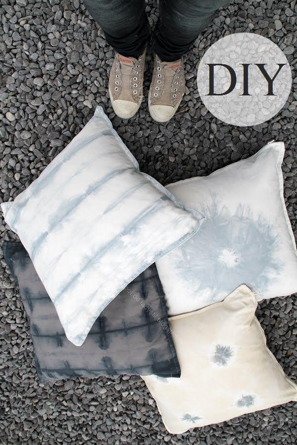 Shibori DIY Tutorial mit Schritt für Schritt Anleitung, Textilien färben leicht gemacht