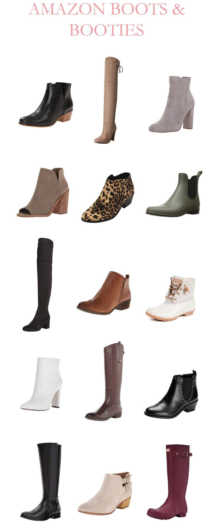 Best Black Booties 2019 Amazon Boots and Booties | Fall Booties | Best Fall Boots | For
