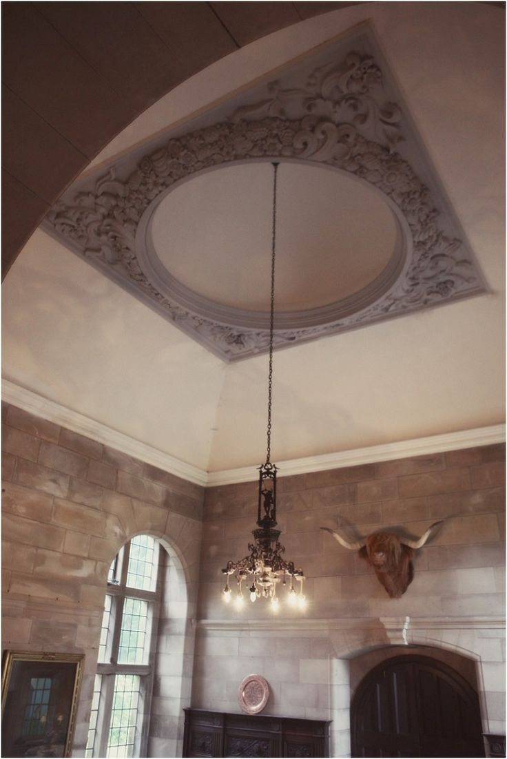 The ceiling of our entrance hall