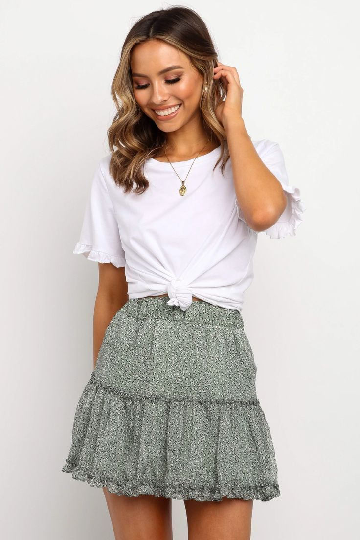 Amazing Outfits Amazing Antrekksommer Outfits Cute Skirt Outfits Fashion Cute Summer Outfits [ 1104 x 736 Pixel ]
