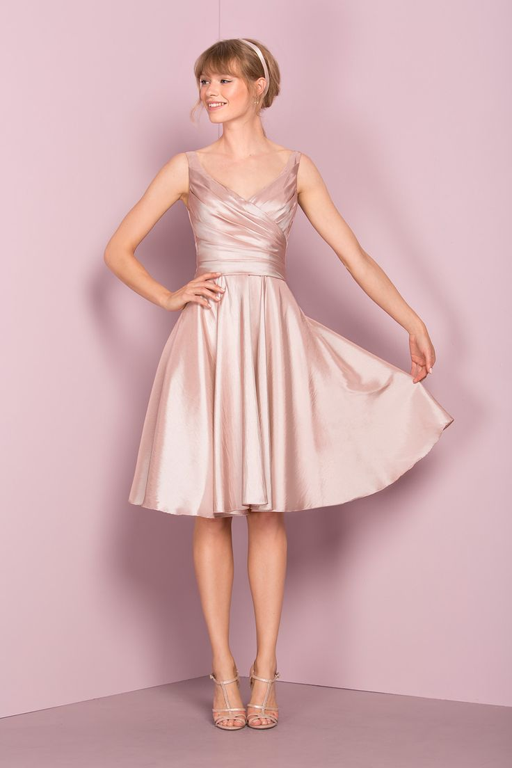 25 cute knee length bridesmaid dresses ideas on pinterest blush i hope someone asks me to be their bridesmaid and makes me wear this ombrellifo Gallery