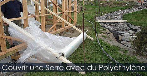 Serre de Jardin - Plan de Serre - Comment recouvrir une serre de jardin avec du polyéthylène ou film plastique. Instructions : http://www.jardinage-quebec.com/guide/construire-une-serre/plan-de-serre-6.html